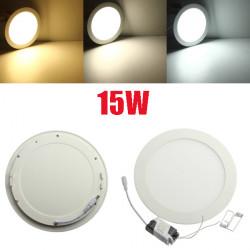 Dæmpbare Ultratynd 15W LED Loft Runde Panel Downlight Lampe