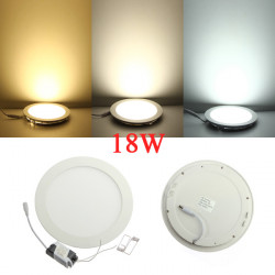 Dimmbare Ultradünne 18W LED Decken Round Panel unten Lampen