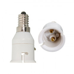 E14 B22 LED Lampen Birne Screw Adapter Konverter Halter