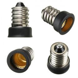 E14 bis E12 Base LED Glühlampe Lampen Adapter Halter Sockel Converter