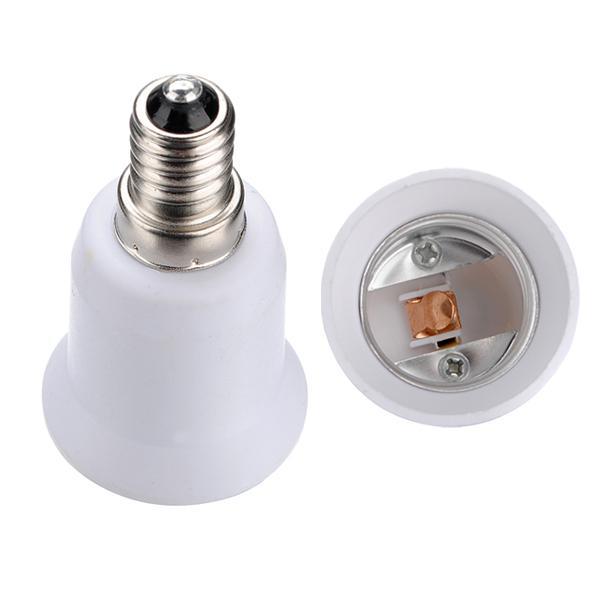 E14 bis E27 Licht Lampe Adapter Konverter NEU Beleuchtung Zubehör