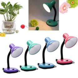 E27 Flexible Desk Light Lamp Home Office Bedside Lighting
