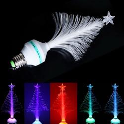 E27 LED RGB Fiber Optical Stage Light Christmas Tree Home Decoration