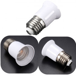 E27 To E27 Lamp Holder Converters Adapter Lamp Holder For LED Lighting