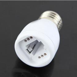 E27 bis G24 LED Licht Lampe Lampen Adapter