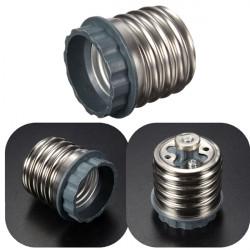 E40 bis E27 Schraube Lampenfassung LED Glühlampe Adapter Sockel Converter