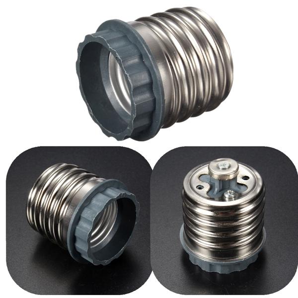 E40 bis E27 Schraube Lampenfassung LED Glühlampe Adapter Sockel Converter Beleuchtung Zubehör