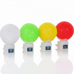 Energy Saving LED Magic Crystal Ball Light Induction Night Light