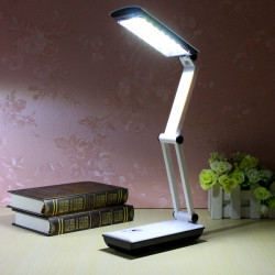 Foldable LED Reading Light Rechargeable Desk Lamp Light Touch Control