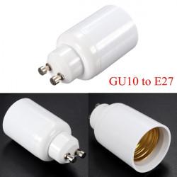 GU10 to E27 Base Screw LED Lamp Bulb Holder Adapter Socket Converter