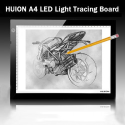 HUION A4 LED Lys Box Ultratynde Tegning Tracing Sketch Table Board
