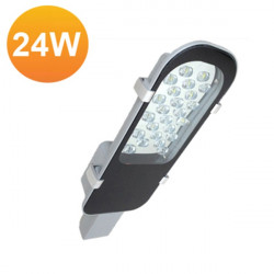 High Power 24W LED Street Light IP65 AC85-265V Outdoor Park Road Lamp