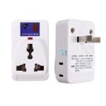 IR Infraröd Nätadapter Fjärrkontroll Sockel Outlet Switch Plug Belysning Tillbehör