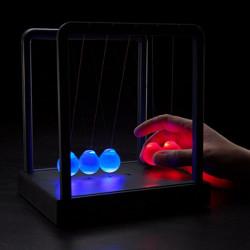 Kinetic Light Newton's Cradle Balance Ball Physics Science Toy Decor