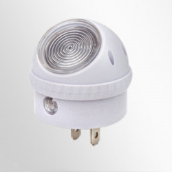 LED 360 Degree Rotation 0.5W Energy Saving Night Light For Bedroom