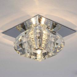 LED 3W Crystal Tak Ljus Modern Korridorer Veranda Ljus för Hall