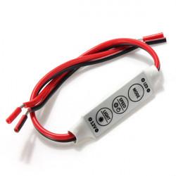 LED Controller Dimmer For 3528 5050 Sinlge Color Car LED Strip DC12V