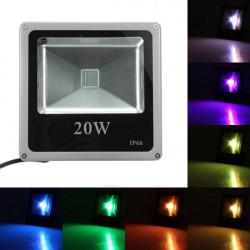 Ledde Fasadbelysning Utomhus 20W RGB IP65 Wash Ljus Trädgård Lampa