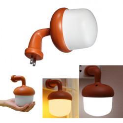Intelligente LED Voice Light Control Nachtlicht Schlafzimmer Nachttischlampe