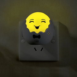 LED Light-controlled Happy Family Night Light Energy-saving Baby Lamp