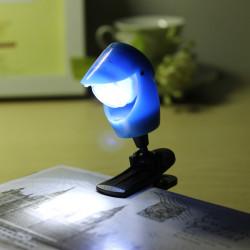 LED Mini Augenschutz Lesenacht Light Tischleuchte mit Clip
