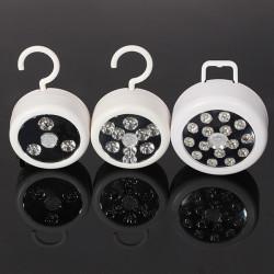 LED PIR IR Auto Motion Sensor Detector Trådlös Nattlampa