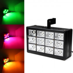 LED RGB Voice-activated Stage Light Bar KTV Disco Strobe Lamp