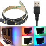LED Strip 30CM Light 3528 Waterproof With USB Port Cable Super Bright DC 5V LED Strip
