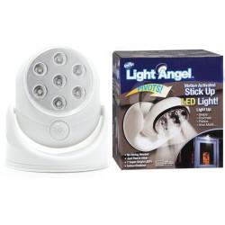 Light Angel LED Motion Activated Sensor Stick Up Night Light Cordless