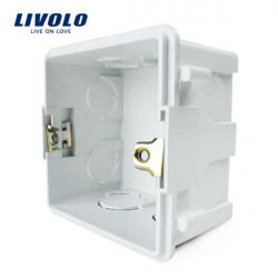 Livolo UK Standard Internal Mount Box For 86mm*86mm Wall Light Switch