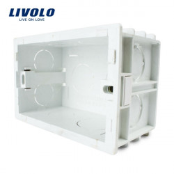 Livolo US Standard Internal Mount Box For 118mm*72mm Wall Light Switch