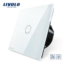 Livolo Vit Glass Dimmer & Remote Touch Panel EU Switch VL-C701DR-11