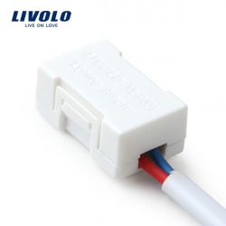 Livolo White Plastic Lighting Adapter For Low-wattage LED Lamp VL-PJ01