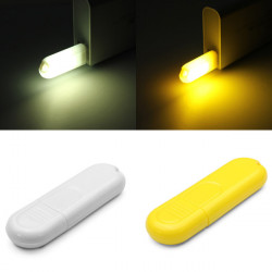 Mini 0.8W Orange/White LED USB Mobile Power Light Lamp Bulb