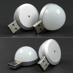 Mini 2W USB LED Energibesparende Portable Natte Lampe Emergency Lampe