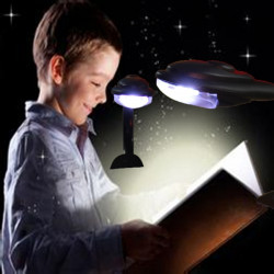 Mini LED flexible Clip Leselicht am Bett Schreibtisch Buch Leselampe