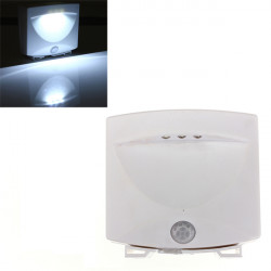 Motion Sensor Automatic Energy Saving LED Night Light Wall Mounted