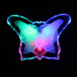 Multicolor LED elektronisches Nachtlicht Schmetterling Lampe