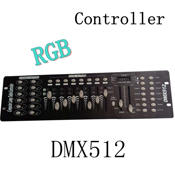 New 192 DMX512 Console Stage Lighting DJ RGB Controller Device LED Lighting