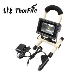 Ny Thorfire 10W Cree Bærbare Genopladelige LED Udendørs Projektør