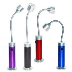 Bärbar LED Slang Ljus Ögonskydd Läsa Lätt med Magnet Base