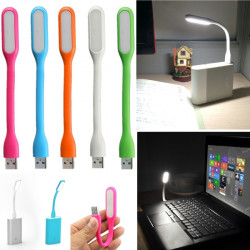 Portable LED USB Lys for Computer Notebook PC Laptop PowerBank