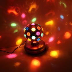 RGB LED Roterende Magic Ball Effect Stage Lys Bar Bryllupsfest Lamp