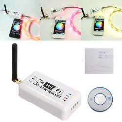 RGB LED Streifen Steuer Handy Smartphone Android Drahtlos WiFi