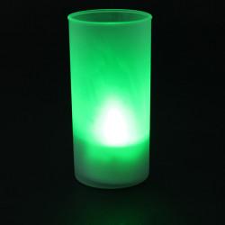 Romantisk Flammeloes Blow Lyd Sensor LED Candle Tea Lys