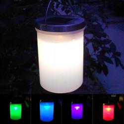Solcelle Hanging Cylinder Lanterner LED Landskab Væg Udendørs Lys