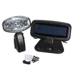 Solcelle Motion Sensor Sikkerhed PIR LED Spotlampe Have Væg