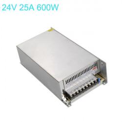 Switching Power Supply 170-250V till 24V 25A 600W för LED Slinga
