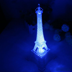 The Eiffel Tower Color Changing Night Light For Decoration Gift
