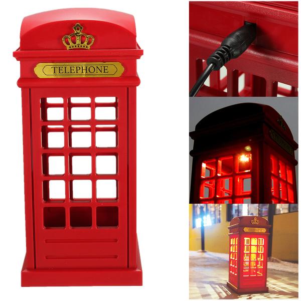 USB Uppladdningsbara Touch Telefonkiosk LED-ljus Bordslampa Justerbar Belysning LED-belysning